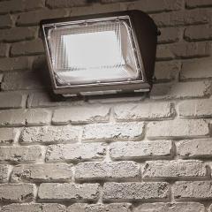 60W LED Wall Pack - 7200 Lumens - 250W Metal Halide Equivalent - 4000K