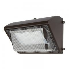 80W LED Wall Pack with Photocell - 9,600 Lumens - 400W MH Equivalent - 5000K/4000K