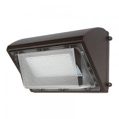 80W LED Wall Pack - 9600 Lumens - 400W Metal Halide Equivalent - 5000K/4000K
