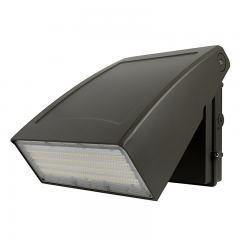 120W Adjustable Full Cutoff LED Wall Pack - 15600 Lumens - 400W MH Equivalent - 5000K/3000K