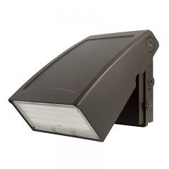75W Adjustable Full Cutoff LED Wall Pack - 9750 Lumens - 320W MH Equivalent - 5000K/3000K