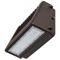 80W Full Cutoff LED Wall Pack with Photocell - 9,600 Lumens - 400W Metal Halide Equivalent - 5000K/4000K