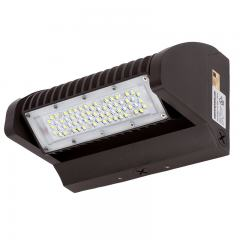 40W Rotatable LED Wall Pack - 4800 Lumens - 175W Metal Halide Equivalent - 4000K