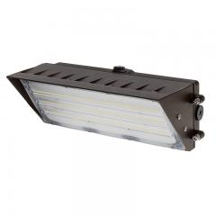 90W LED Wall Pack with Photocell- Semi Cutoff Wall Pack - 11700 Lumens - 400W MH Equivalent