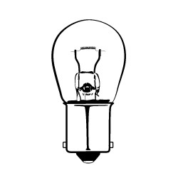 Center High Mount Stop Light Bulb