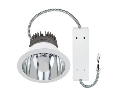 Commercial led downlight retrofit for 8 cans recessed light w commercial led downlight retrofit for 8 cans recessed light w reflector trim 280 watt equivalent 2800 lumens aloadofball Gallery