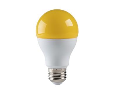 led bug light bulb a19 yellow 75 watt equivalent 720 lumens super bright leds. Black Bedroom Furniture Sets. Home Design Ideas