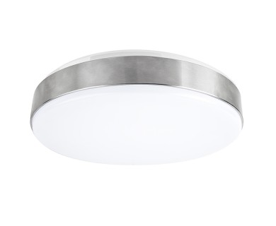15 flush mount led ceiling light w brushed nickel housing 100 15 flush mount led ceiling light w brushed nickel housing 100 watt equivalent low profile ceiling light dimmable 1500 lumens mozeypictures Images
