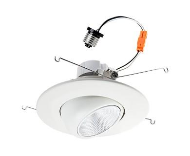 recessed led eyeball lighting retrofit lights light cans kit downlight equivalent watt trim regarding decor dimmable interior fixtures ggregorio inch