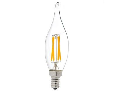 Ca10 led filament bulb 40 watt equivalent candelabra led vintage led vintage light bulb ca10 candelabra led bulb w filament led dimmable mozeypictures Gallery