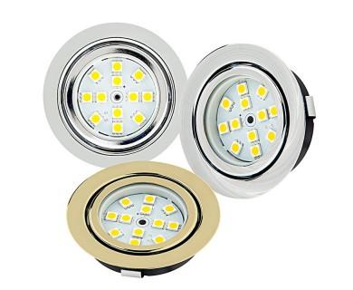 recessed led puck lights 12 led 20 watt equivalent 170 lumens