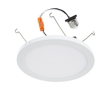 9 slim led downlight for 4 5 or 6 cans retrofit led recessed