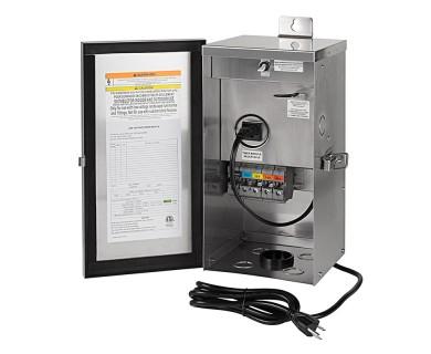 low voltage transformer 300 watt multi tap landscape lighting