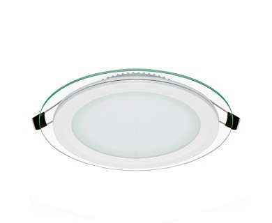 6 led recessed light w edge lit glass led downlight w open trim