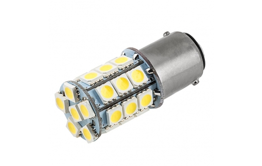 1142 LED Bulb - 27 SMD LED Tower - BA15D Bulb - 1142-x27-T-CAR
