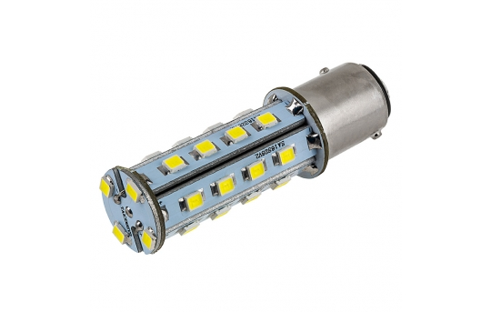 1157 LED Bulb - Dual Function 28 SMD LED Tower - BAY15D Bulb - 1157-xHP28-T-CAR