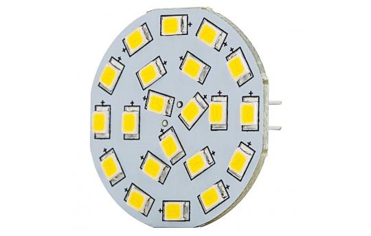 G4 LED Landscape Light Bulb - 40 Watt Equivalent - Bi-Pin LED Disc - 320 Lumens - G4B-xHP21-DAC-LAN