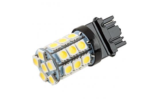 3156 LED Bulb - 27 SMD LED Tower - Wedge Base - 3156-x27-T-CAR