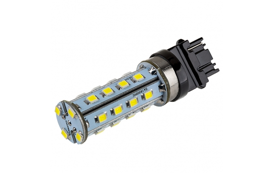3156 LED Bulb - 28 SMD LED Tower - Wedge Base - 3156-xHP28-T-CAR