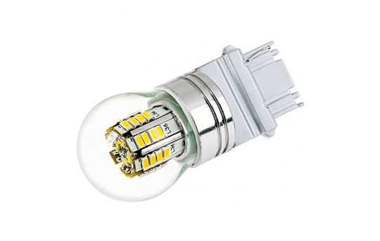 3156 LED Bulb w/ Stock Cover - 36 SMD LED Tower - Wedge Base - 3156-x3W-G-CAR