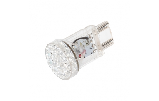 3157 LED Bulb - Dual Function 25 LED Motorcycle Bulb - 3157-R19W6