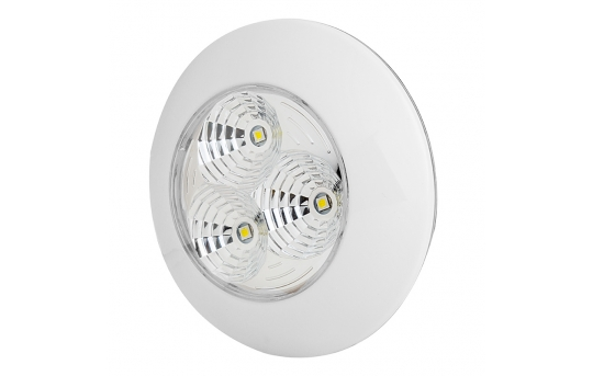 "3.25"" Round LED Dome Light Fixture - 30 Watt Equivalent - 300 Lumens - TDL-W3"
