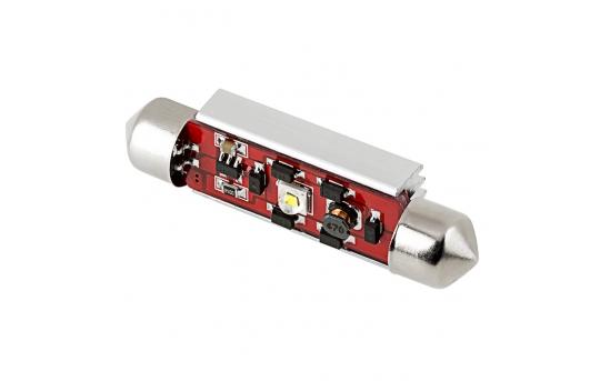578 LED CAN Bus Bulb - 1 SMD LED Festoon - 44mm - 4410-W1-CB