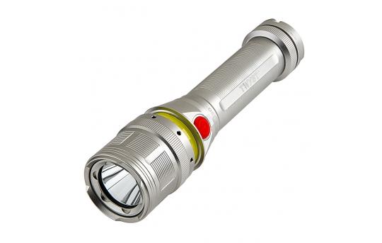 LED Flashlight - NEBO TWYST with Built in 360 degree COB Work Light - 250 Lumens - #6296