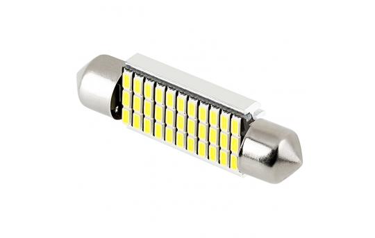 6451 CAN Bus LED Bulb - 33 SMD LED Festoon - 41mm/42mm - 4110-x33-CB
