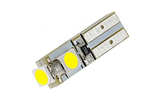 74 LED Boat and RV Light Bulb - 3 SMD LED - Miniature Wedge Retrofit - 74-xHP3-RVB