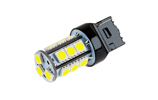 7440 LED Bulb - 18 SMD LED Tower - Wedge Base - 7440-x18-T-CAR