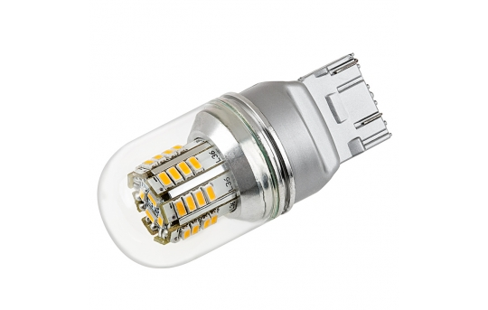 7443 LED Bulb w/ Stock Cover - Dual Function 36 SMD LED Tower - Wedge Base - 7443-x3W-G-CAR