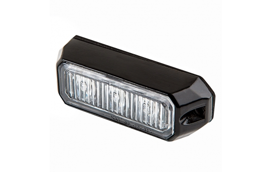 Vehicle LED Mini Strobe Light Head - Built-In Controller - 9 Watt - Surface Mount - PN-STRB-x9W