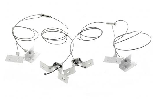 LED Panel Light Suspension Kit Mounting Hardware for 40W LED Panel - LP-HKO