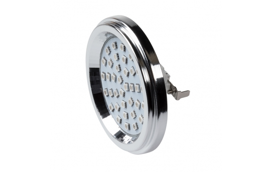 AR111 LED Landscape Light Bulb - 36 SMD LED Bi-Pin Flood Light Bulb - 60 Watt Equivalent - 600 Lumens - AR111-x36SMD-LAN