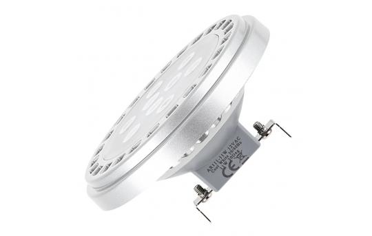 AR111 LED Boat and RV Light Bulb - 9 SMD LED Bi-Pin Spotlight Bulb - 60 Watt Equivalent - 600 Lumens - AR111-xW9W-30-RVB