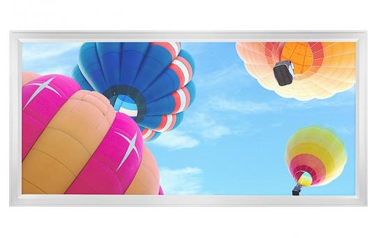 LED Skylight w/ Balloon 1 Skylens® - 2x4 Dimmable LED Panel Light - Flush Mount/Drop Ceiling - EGD-B1-x24