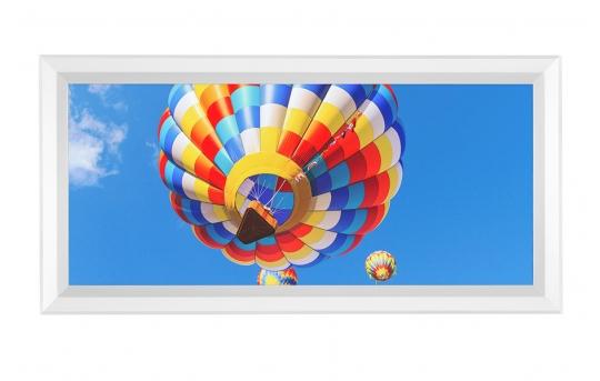 LED Skylight w/ Balloon 2 Skylens® - 1x2 Dimmable LED Panel Light - Flush Mount - EGD-B2-x12