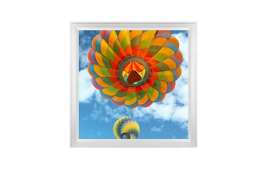 LED Skylight w/ Balloon 3 Skylens® - 2x2 Dimmable LED Panel Light - Flush Mount/Drop Ceiling - EGD-B3-x22