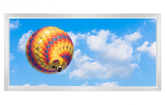 LED Skylight w/ Balloon 4 Skylens® - 2x4 Dimmable LED Panel Light - Flush Mount/Drop Ceiling - EGD-B4-x24