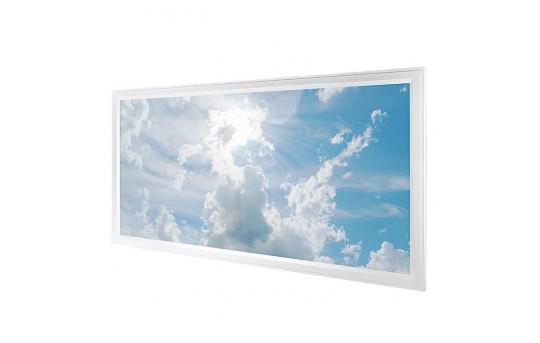 LED Skylight - 2x4 Dimmable Even-Glow® LED Panel Light w/ SkyLens® - Flush Mount - EGD-x-x24