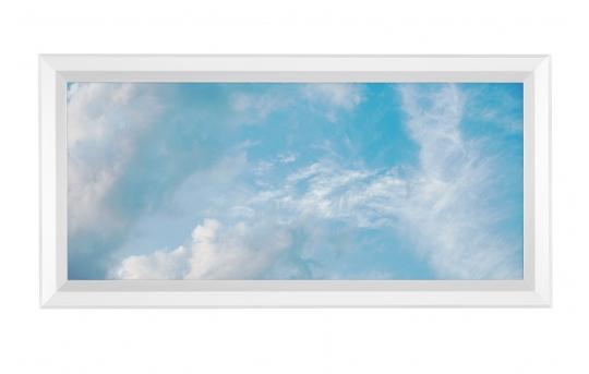 LED Skylight w/ Summer Skylens® - 1x2 Dimmable LED Panel Light - Flush Mount - EGD-C5-x12