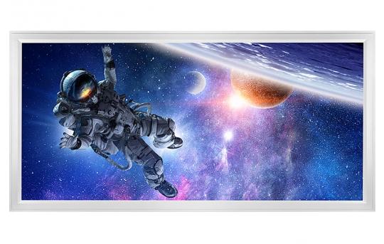 LED Skylight w/ Astronaut Skylens® - 2x4 - Dimmable - Flush Mount/Drop Ceiling - EGD-S1-x24