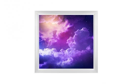 LED Skylight w/ Mystical Night Skylens® - 2x2 - Dimmable - Flush Mount/Drop Ceiling - EGD-S2-x22