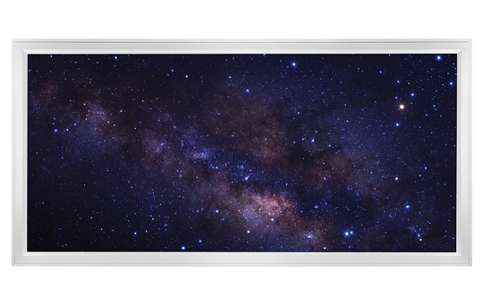 LED Skylight w/ Starry Night Skylens® - 2x4 - Dimmable - Flush Mount/Drop Ceiling - EGD-S3-x24