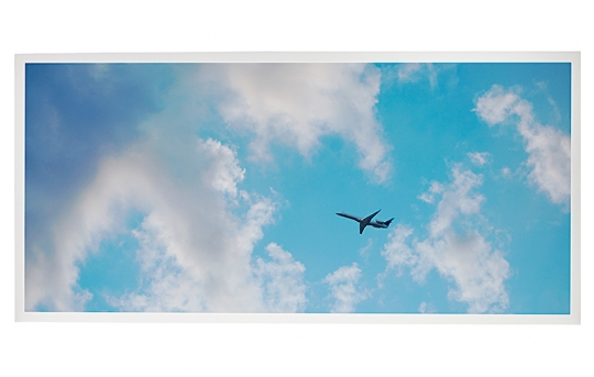 LED Skylight w/ Jet Set Skylens® - 2x4 Dimmable LED Panel Light - Drop Ceiling - EGD3-C3-x24-50