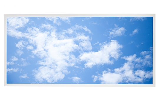 LED Skylight w/ Lazy Day Skylens® - 2x4 Dimmable LED Panel Light - Drop Ceiling - EGD3-C6-x24-50