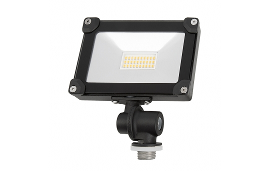 10 Watt Knuckle-Mount LED Flood Light - 4000K - 75 Watt Incandescent Equivalent - 1,100 Lumens - FLCKM-40K10