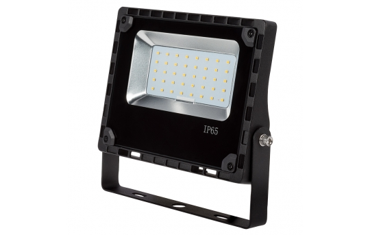 30 Watt LED Flood Light Fixture - 5000K/4000K - 100 Watt MH Equivalent - 3,600 Lumens - FLCU-x30-110