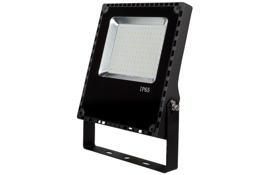 80 Watt LED Flood Light Fixture - 5000K/4000K - 175 Watt MH Equivalent - 9,600 Lumens - FLCU-x80-110